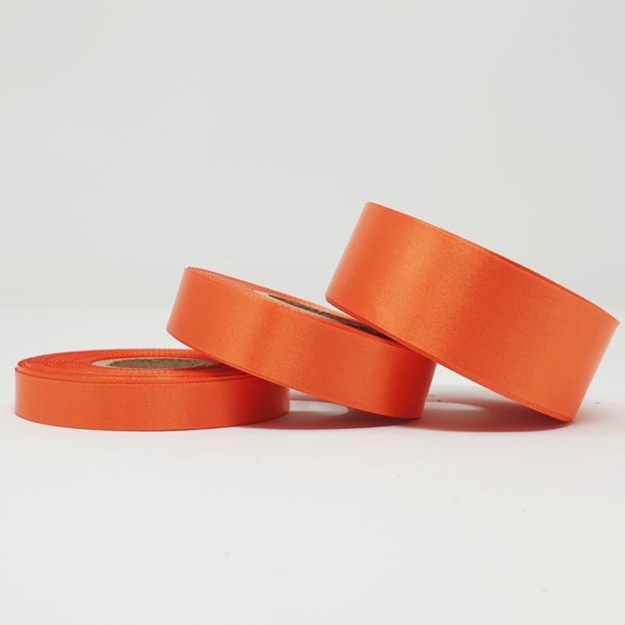 Ruban soie orange