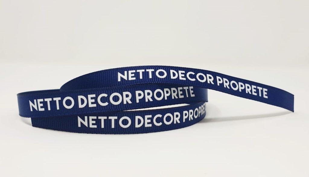 Bracelet ruban personnalisé