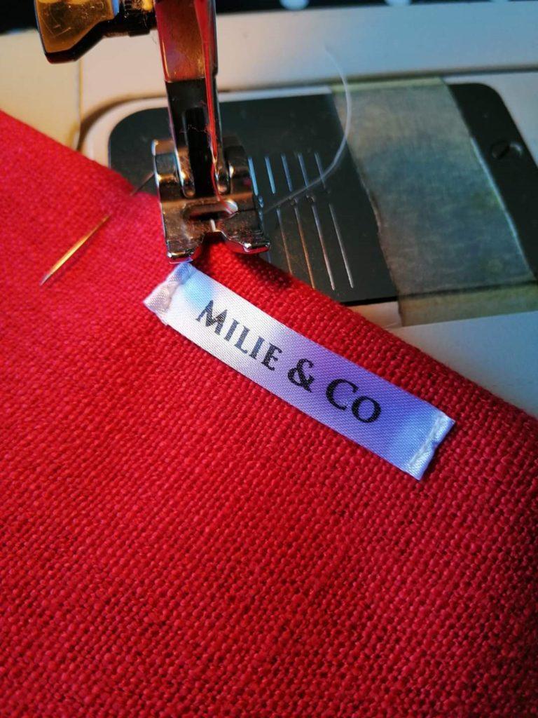 Ruban personnalisé couture