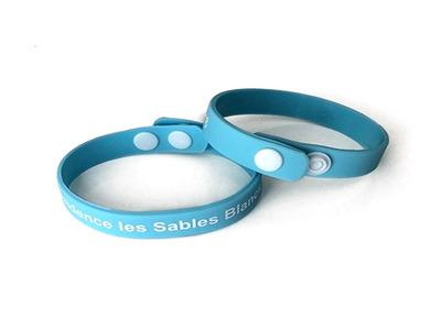 Bracelet en silicone pas cher