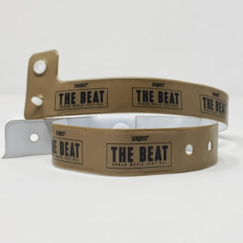 Bracelet festival vinyle