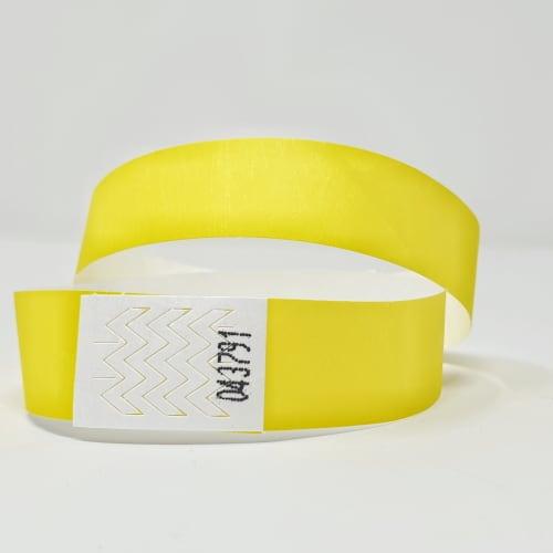 bracelet identification papier