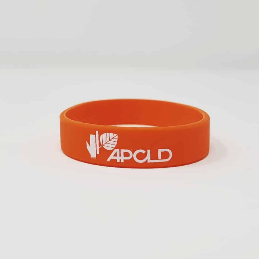 Bracelet silicone personnalisé petite quantité