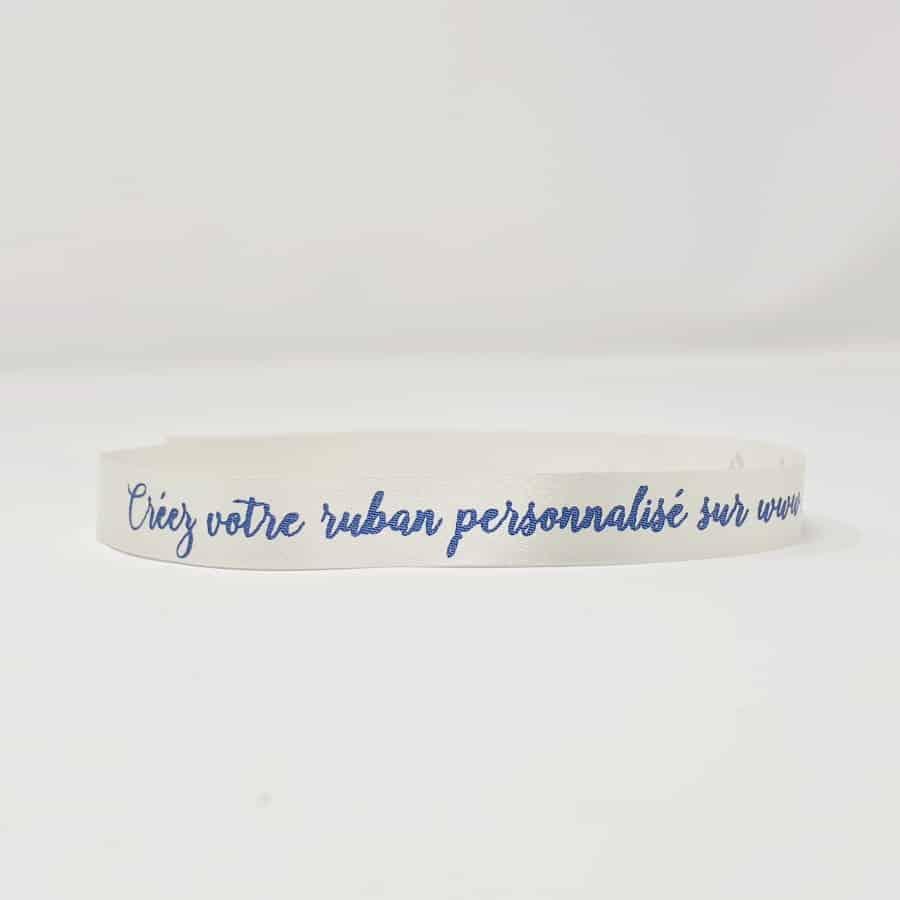 Bracelet tissu personnalisé