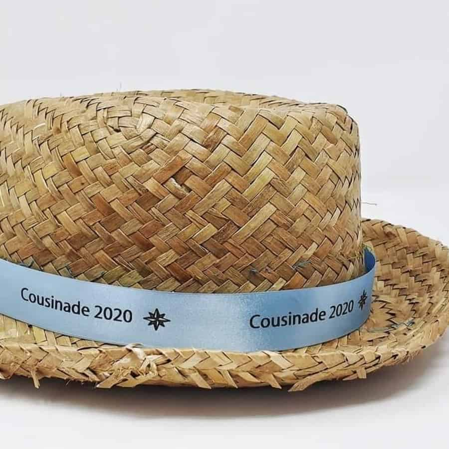 Ruban chapeau personnalisé