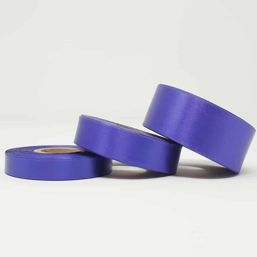 Ruban soie violet