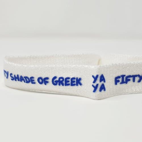 Bracelet ruban écologique
